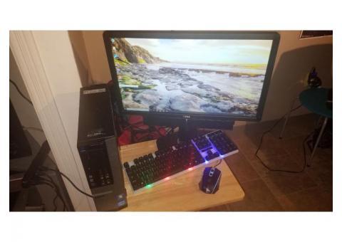 "Dell Optiplex 790 sff / 21.5"" Full 1080P HD Display w/Dell Stereo Soundbar/1200mbs Wifi connectivit"